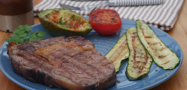 Steak vom Kontaktgrill
